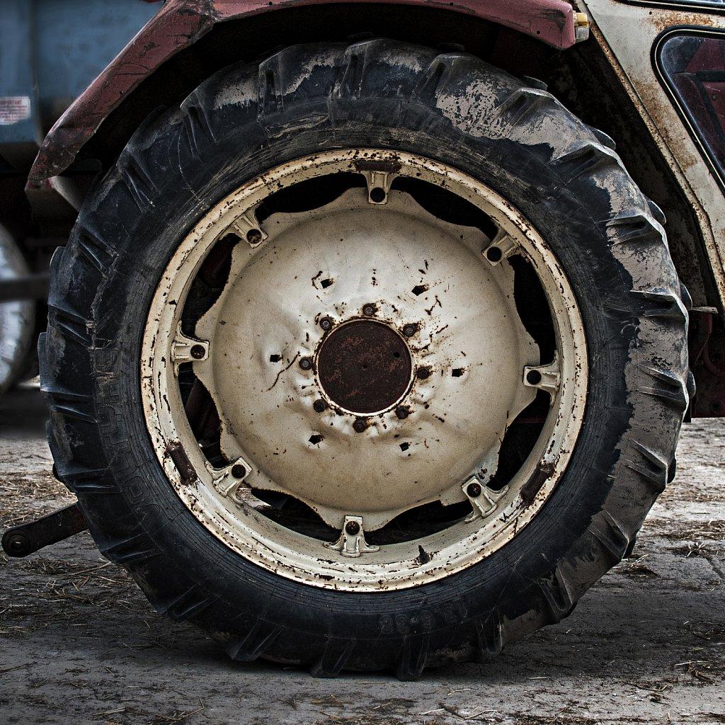 Roue de tracteur